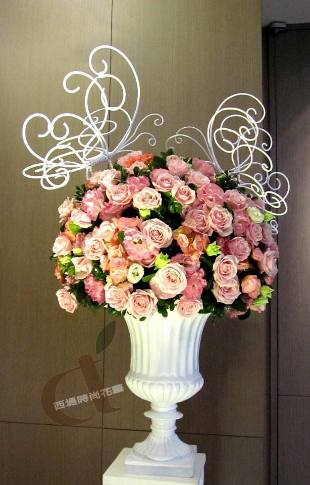 台北婚佈@艾美酒店 夢幻蝴蝶花園 婚禮佈置2.jpg