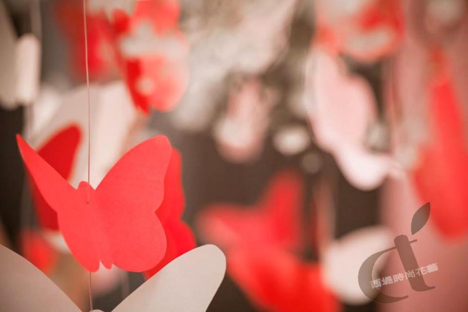 台北婚佈@艾美酒店 夢幻蝴蝶花園 婚禮佈置3.jpg