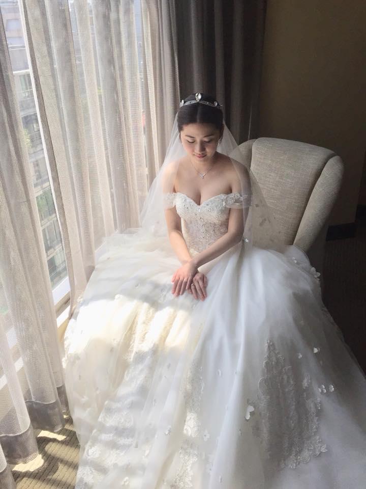 台北新秘靜瑀@如盈白紗古典造型分享 新娘秘書 饅頭爸團隊3.jpg