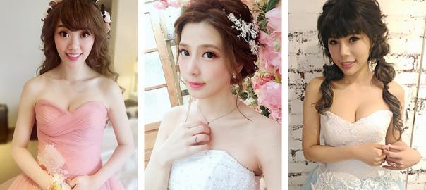 甜美新娘造型